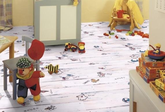 פרקט לחדר ילדים