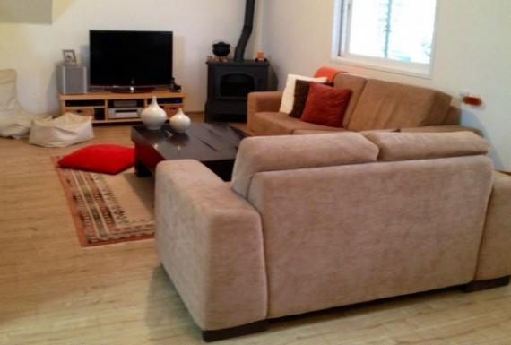 רצפת פרקט למינציה משכבות עץ לסלון
