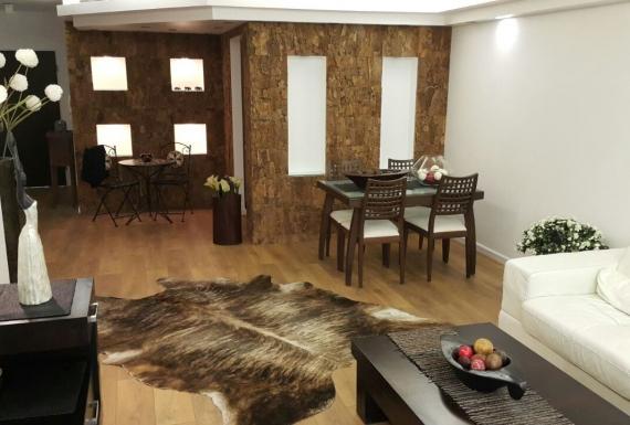 פרקט למינציה משכבות עץ לסלון