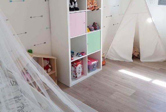 פרקט למינציה איכותי לחדר ילדים