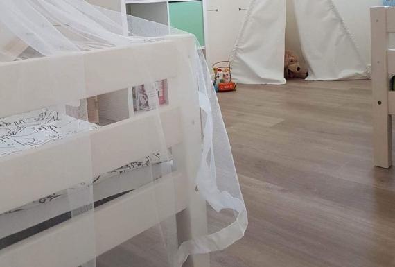 פרקט למינציה גרמני לחדר ילדים