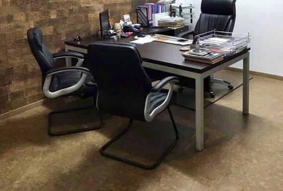 פרקט עץ לחדר עבודה