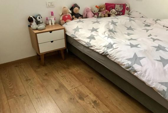 פרקט למינציה איכותי לחדר שינה ילדים