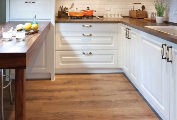 רצפת פרקט למטבח