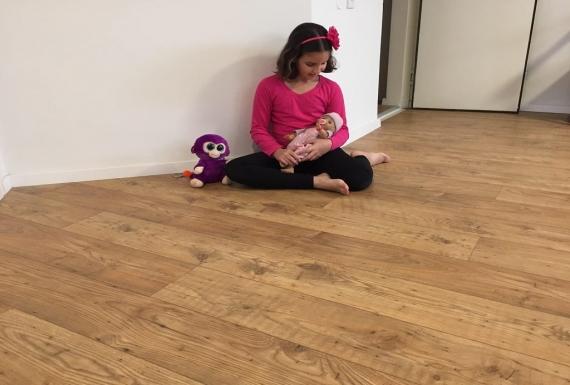 פרקט עץ אלון לחדר ילדים