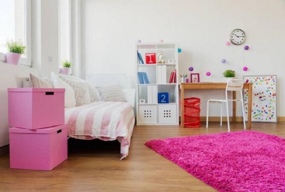ריצוף פרקט בחדר ילדים
